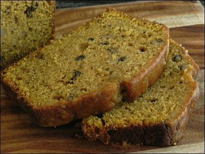 Pumpkin Walnut Spice Bread