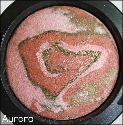 mac aurora eyeshadow