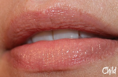 Hourglass Child lip gloss swatch