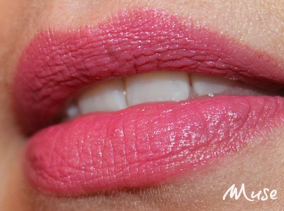 Revlon Colorstay Ultimate Suede Lipstick swatch in Muse