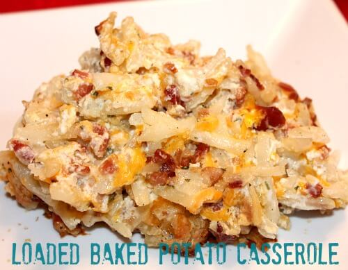 loaded baked potato casserole 2