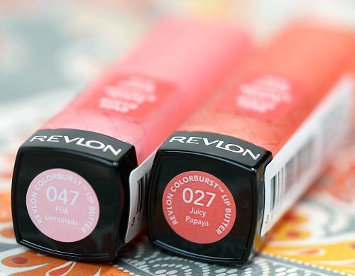 Revlon Pink Lemonade and Juicy Papaya Lip Butter