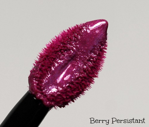 L'Oreal Berry Persistent Colour Riche Caresse Wet Shine Stain