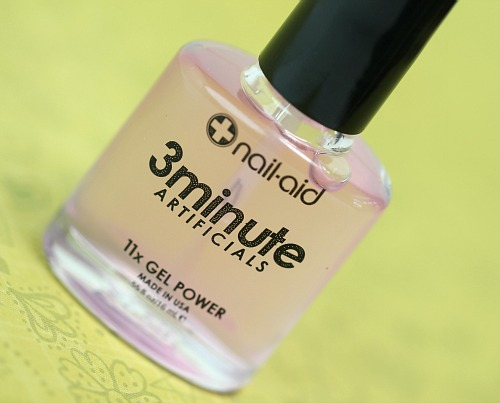 Nail-Aid 3 Minute Artificials Base and Top Coat For Harder Nails