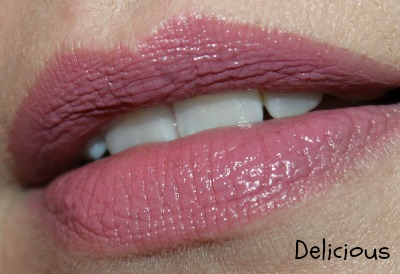 Covergirl Lip Perfection Lipstick Swatch in Delicious
