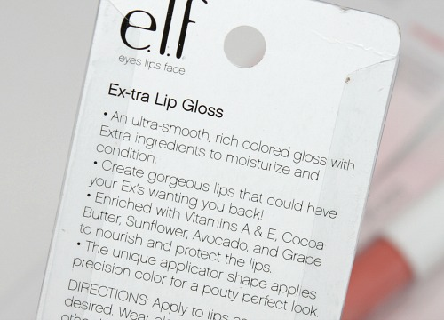 Elf Ex-tra Lip Gloss
