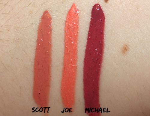 Elf Ex-tra Lip Gloss Swatches